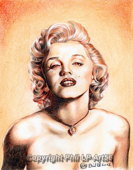 Marilyn Monroe by PhilLP